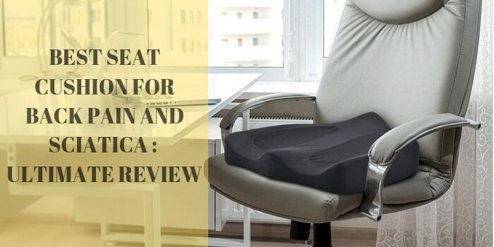 Best Seat Cushion for Back Pain and Sciatica