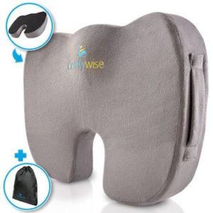 ComfyWise Coccyx Orthopedic Seat Cushion
