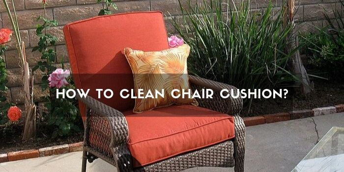 Clean Chair Cushion