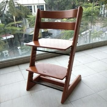 Using High Chairs For Small Spaces