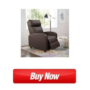 homall single recliner chair - best home chair for lower back pain